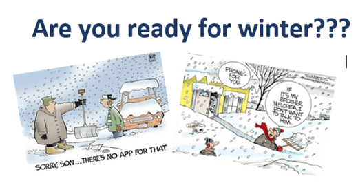 Winter is here, are you ready???