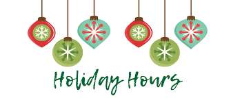 Christmas and New Year Office Hours